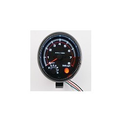 "Tacometro LED Para Autos 12V 95mm 3.75""Tac 0-8000 RPM"