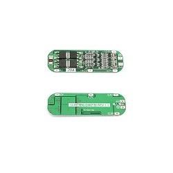 Modulo Protector Para Motor de Taladro 12.6V 20A BMS Baterial Litio 18650 PCB