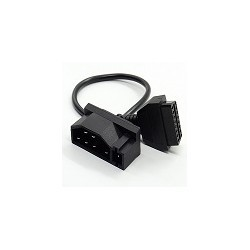 Conectior Ford OBD1 a OBD2 7 Pin a 16 Pin