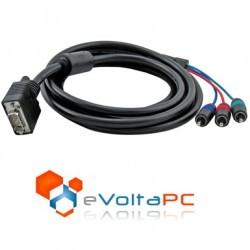 Cable VGA a RGB Componente