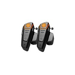 Par intercomunicador Manos libre Para Casco de Casco Moto Bluetooth