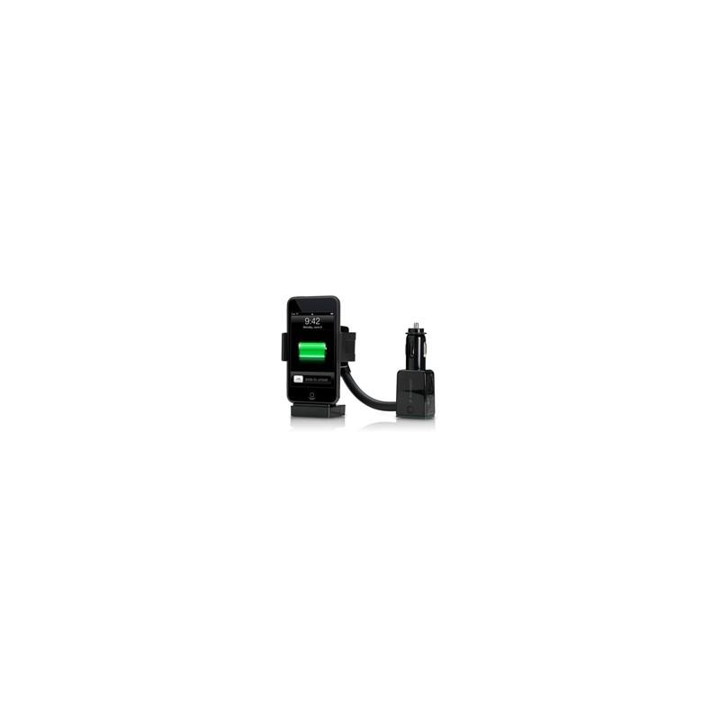 Soporte de Carga para Auto Deluxe Kensington AUX para iPhone iPo