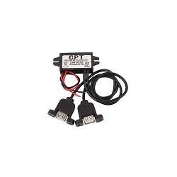 Convertidor Regulador de Voltaje 12V a 5V 3A 15W Salida USB