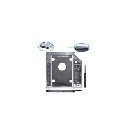 "Caddy disco duro Sata 3.0 2.5"" SSD 9.5mm CD DVD Rom"