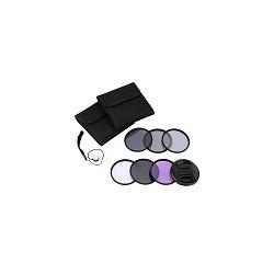 Kit filtros Para Nikon Canon Sony Pentax UV CPL FLD ND 72MM Andoer