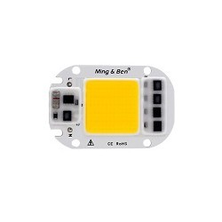 50w Cob Chip Led Driver Integrado 220v Blanco Calido 2800k-3200k