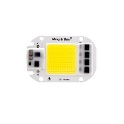 50w Cob Chip Led Driver Integrado 220v Blanco 6000-6500k