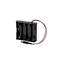 Porta Pilas 4x AA Con Plug Arduino