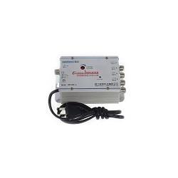 Amplificador de Señal 1 a 4 Canales 30db Indoor OUT CATV 45-860mhz