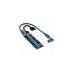 Tarjeta Vertical de Video Usb 3.0 PCIE 1x a 16X Riser 006C