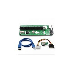 Tarjeta Vertical de Video Usb 3.0 PCI-E 1x a 16X Riser Extension V007