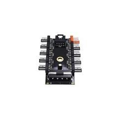 Hub Refrigeracion Splitter 1 a 10 Fan 4 Pin Molex 12V PWM