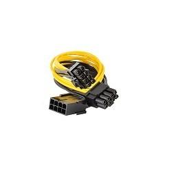 Cable Adaptador PCI-E 8 Pines a Dual PCI-E 8 Pines Splitter GPU