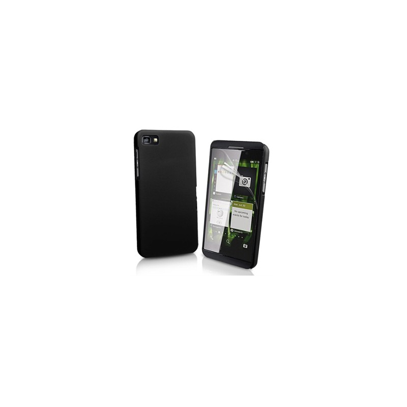 Carcasa Case Rigido Policarbonato para Blackberry Z10 Negra
