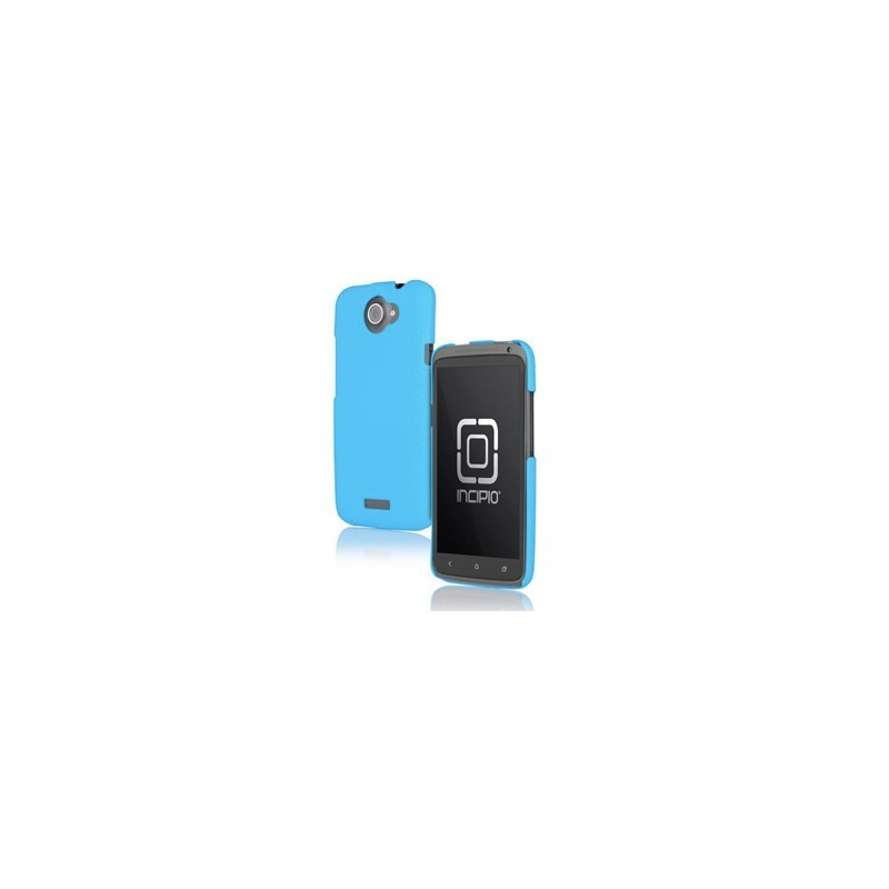 Carcasa Case Rigido Policarbonato HTC One X Negro S720e