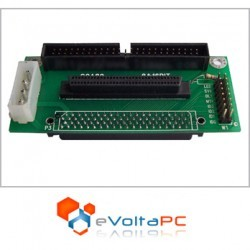 Adaptador SCA 80pin a 50pin/68pin SCSI I/II/III