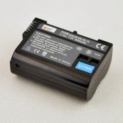 Batería DSTE Reemplaza Nikon EN-EL15 para D7000 D800 V1 D7100