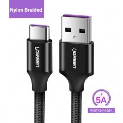 Cable USB-C Carga Rapida 5A...