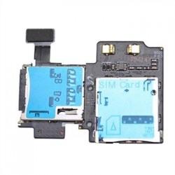 Flex Lector De Sim Y Micro Sd Samsung Galaxy S4 I9500 I9505