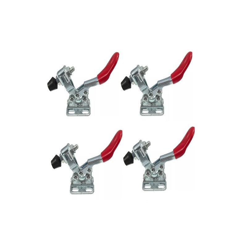 kit 4 prensas rapida para carpinteria retencion 27 kg