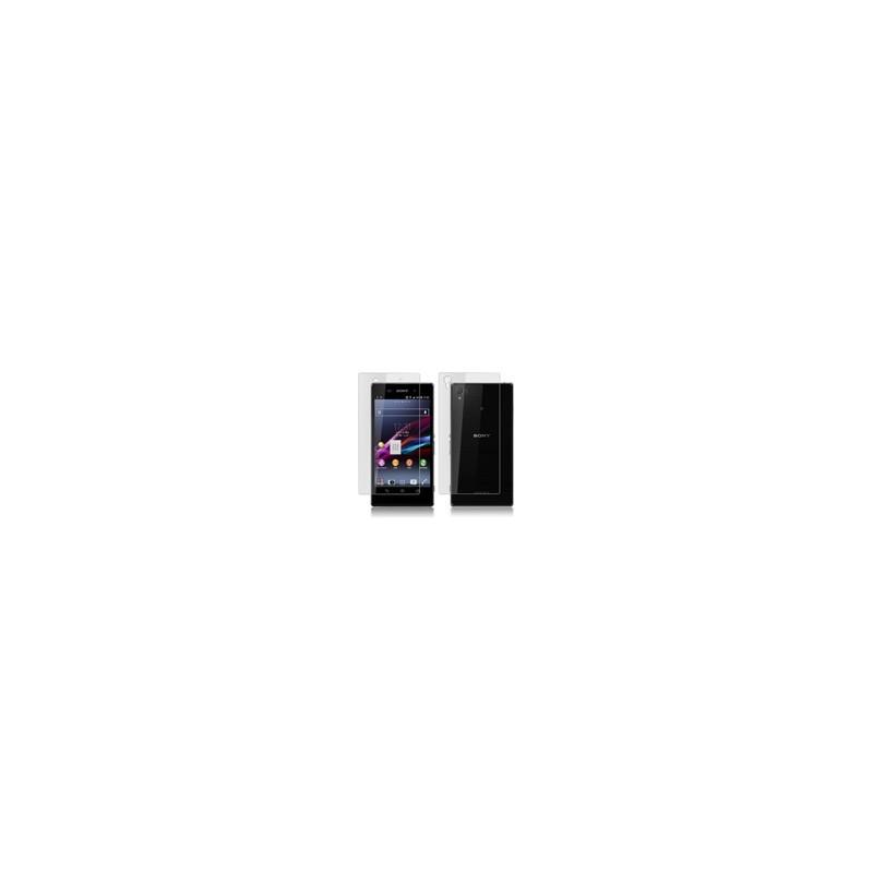 Lamina Protectora Pantalla LCD + Trasera para Sony Xperia Z1 L39h C6902