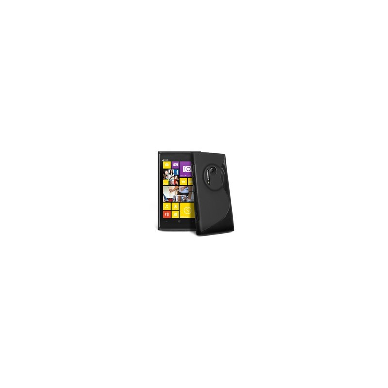 Carcasa Case Silicona Gel TPU Para Nokia Lumia 1020 + Lamina