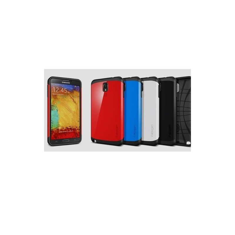 Carcasa Spigen Sgp Slim Armor Galaxy Note 3 N9000 + Lamina