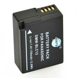 Bateria Dste Reemplaza Panasonic Dmw-BLC12 DMC-FZ200 DMC-GH2