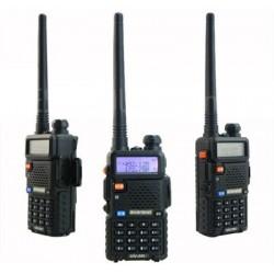 Radio Portatil Vhf Uhf Banda Corrida Baofeng Uv5r Handy Fm