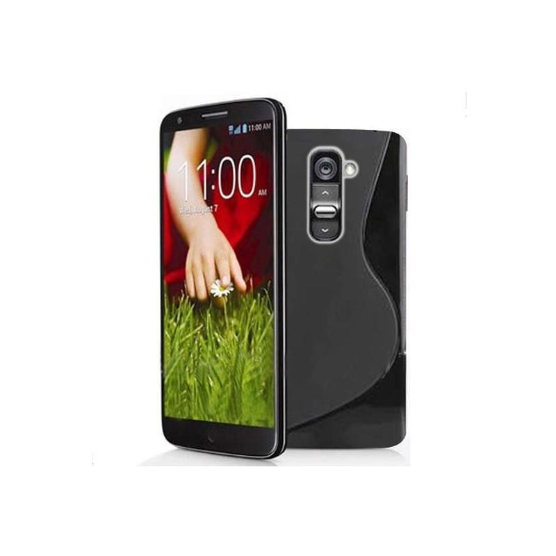 Carcasa Case Silicona Gel Tpu Para LG G2 D802 + Lamina