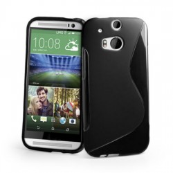 Carcasa Case Silicona Gel Tpu Para HTC One M8