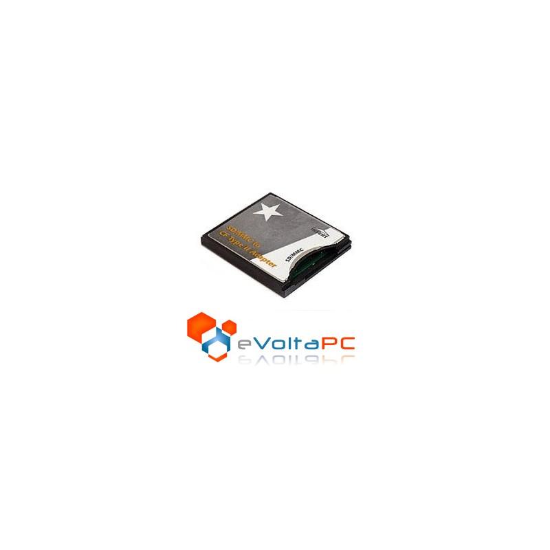 Adaptador SD/SDHC/MMC a Compact Flash