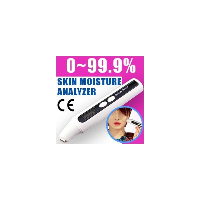 Tester Analizador Humedad Piel Cutis Skin Moisture Medidor