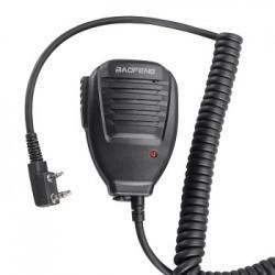 Microfono Parlante Radio Ptt Baofeng Kenwood UHF VHF UV-5R