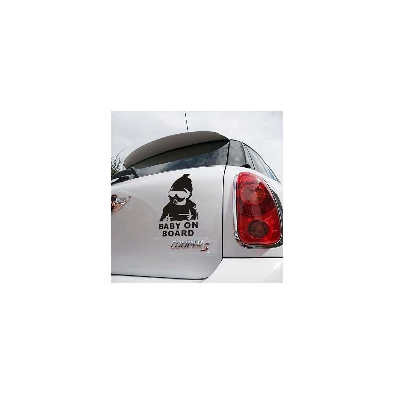 Adhesivo Bebe A Bordo Para Auto Sticker Baby on Board