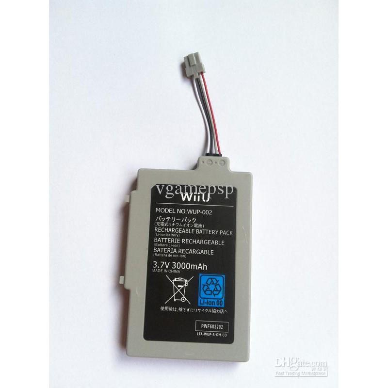 Bateria para Wii U Gamepad 3.000mah Recargable