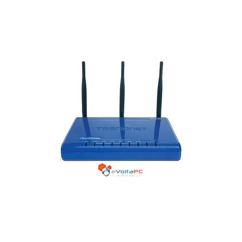 Router Trendnet TEW-631BRP 300MBPS Wireless N Turbo!