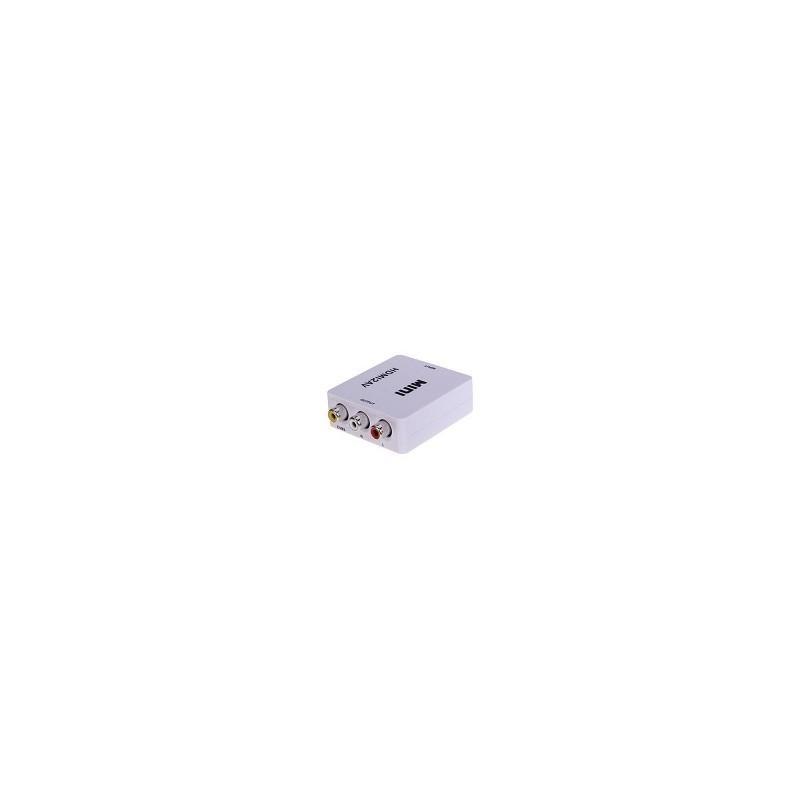 Conversor HDMI a RCA AV NTSC PAL