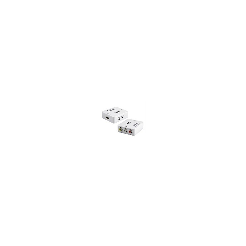 Conversor RCA AV a HDMI Full HD