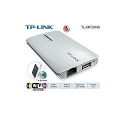 Router 3G Con Bateria Recargable TP-LINK TL-MR3040 N 150Mbps