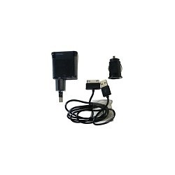 Kit Cargador 3 en 1 para Galaxy Tab Pared Auto USB