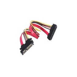 Cable de Datos 22 pin Macho a 15 Pin Hembra Extension