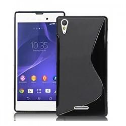 Carcasa Case Silicona Gel TPU para Sony Z3 + Lamina