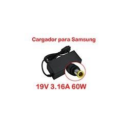 Cargador Notebook Samsung R430 R580 19v 3.16a 60W