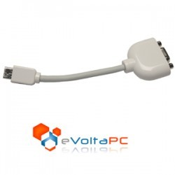 Adaptador Mini VGA a VGA para eMac, iMac, iBook y Powerbook