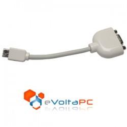 Adaptador Mini VGA a VGA para eMac, iMac, iBook y Powerbook