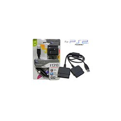 Adaptador USB a PS2 Dual con filtro Playstation 2 Microlab