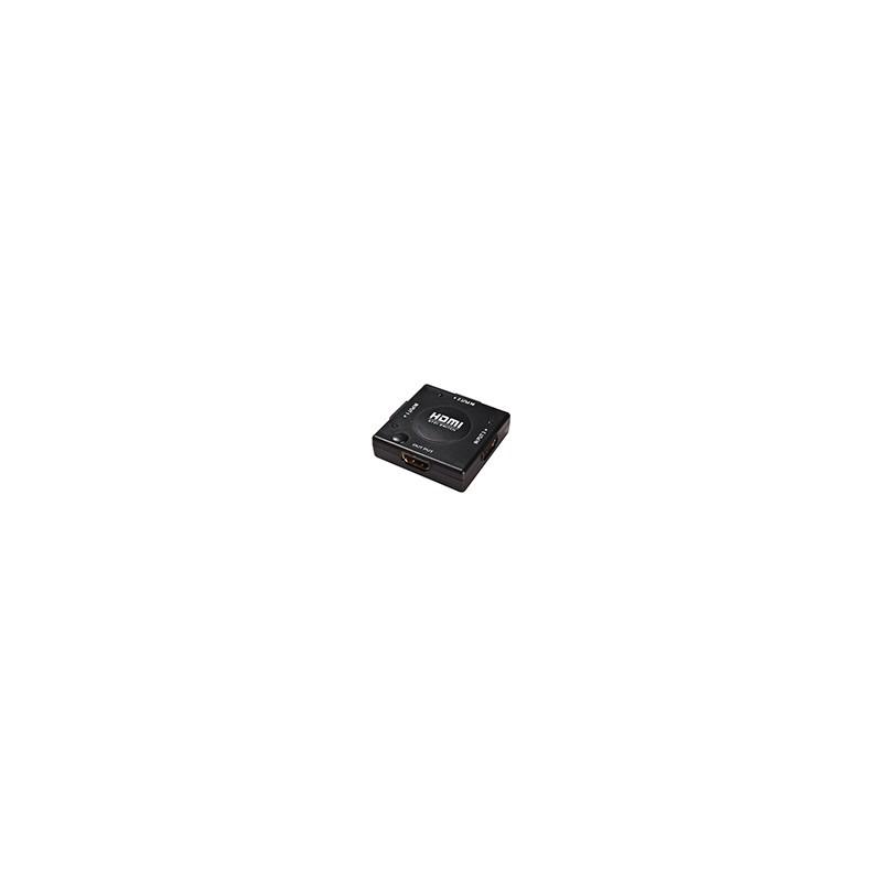 Swtich Hdmi Hub 3 Puertos 1080p 1.3 Selector 3 Entradas