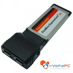 Tarjeta ExpressCard 34 a Firewire 1394a x 2