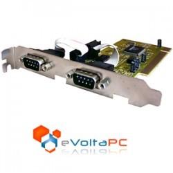 Tarjeta Controladora PCI a RS232 DB9 x 2 puertos